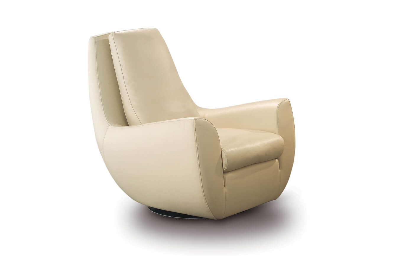 Nicolettihome Flower Chair Swivel Leather Sofas Amp Couches
