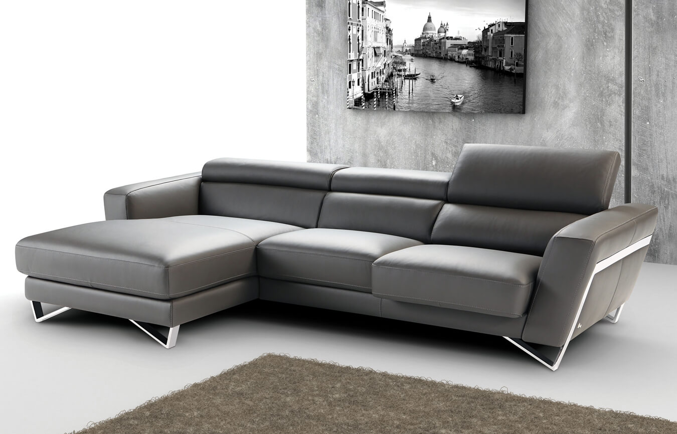 itaca - nicoletti home sectional home with adjustable headrests |pune