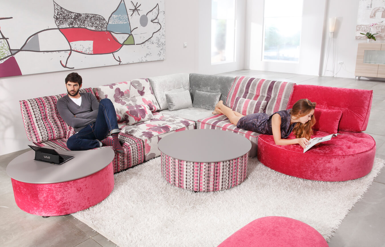 Arianne Love Fama Sectional Sofas Simplysofas
